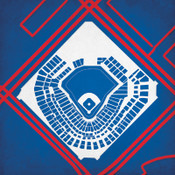 Ballpark in Arlington City Print
