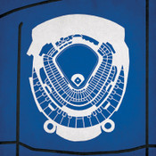 Kauffman Stadium City Print