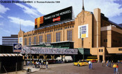 """Outside Boston Garden"" Boston Bruins/Celtics Print"