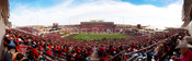 50 Yard Line at Jones AT&T Stadium Panoramic Poster