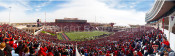 Red Raiders at Jones AT&T Stadium Panoramic Poster 1