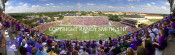 TCU Horned Frogs at Amon Carter Stadium Panoramic Poster