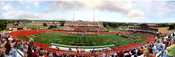 Texas State Bobcats at Bobcat Stadium Panoramic Poster
