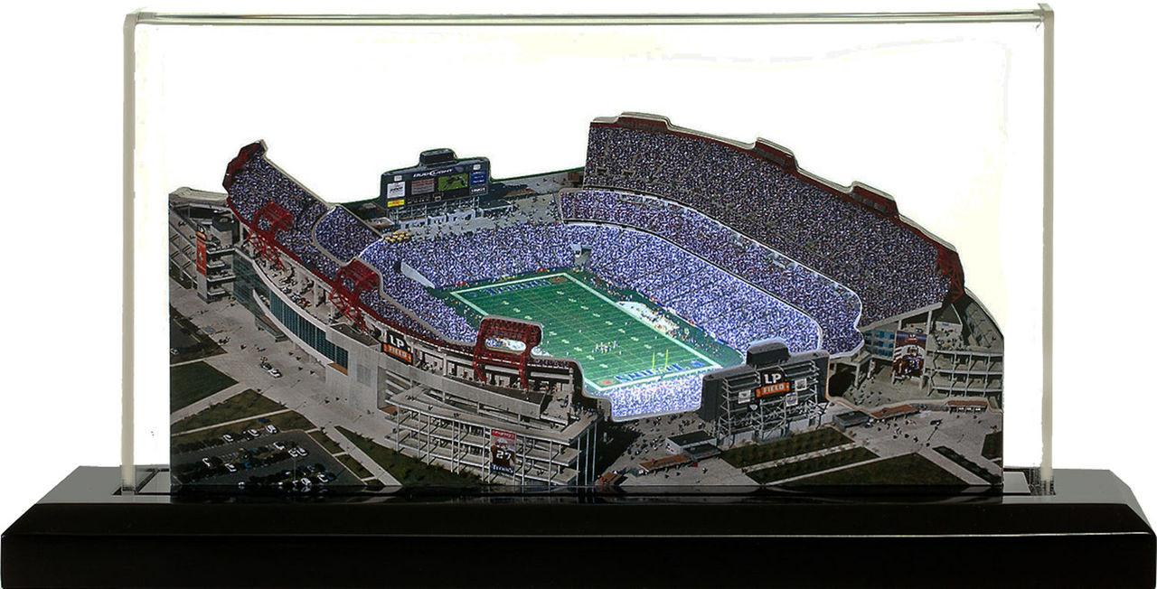 Nissan Stadium Tennessee Titans 3d Stadium Replica The Stadium Shoppe