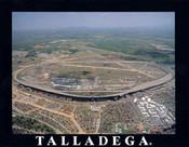 Talladega Speedway Aerial Poster