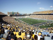West Virginia Mountaineers at Mountaineer Field Poster 2
