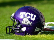 TCU Horned Frogs at Amon Carter Stadium Poster 2