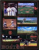 Boston Red Sox Time Line Poster