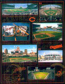 Cleveland Indians Time Line Poster