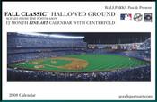 2008 Fall Classic Hallowed Ground Baseball Calendar