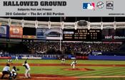 2011 Hallowed Ground Ballparks Past & Present Baseball Calendar