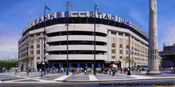 """Outside Yankee Stadium"" New York Yankees Print"