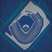 Safeco Field City Print