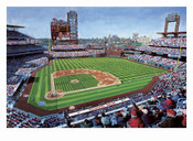 """Phillies New Ballpark"" Philadelphia Phillies Print"