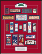 Fenway Park Anniversary Tickets to History Replica Ticket Frame