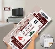 Fenway Park 100th Anniversary Game Mega Ticket - Boston Red Sox