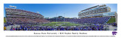 Kansas State Wildcats at Bill Snyder Stadium Panorama Poster
