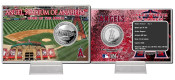 Angel Stadium Silver Coin Card