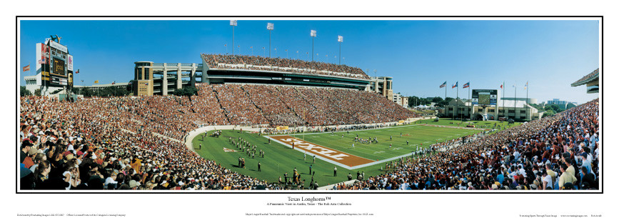 98,053 Strong at Royal Memorial Stadium Panoramic Poster