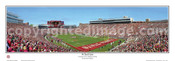 """34 Yard Line at Doak Campbell Stadium"" Panoramic Poster"
