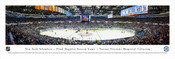 New York Islanders at Nassau Coliseum Panoramic Poster