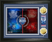 """2014 Winter Classic """"Ticket"""" Gold Coin Photo Mint"""