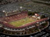 Sam Boyd Stadium Aerial Poster