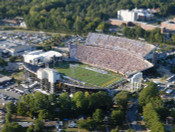 ECU Pirates at Dowdy Ficklen Stadium Aerial Poster