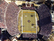 "ECU Pirates ""Gameday Aerial"" at Dowdy Ficklen Stadium Poster"