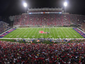 Ole Miss Rebels at Vaught Hemingway Stadium Poster 4