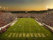 Vanderbilt Commodores at Vanderbilt Stadium Poster
