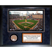 Oriole Park Game Used 11x14 Mini Dirt Collage