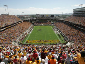 "Arizona State Sun Devils ""Gameday"" at Sun Devil Stadium Poster"
