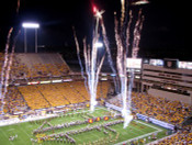 "Arizona State Sun Devils ""Fireworks"" at Sun Devil Stadium Poster"