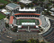 Oregon State Beavers at Reser Stadium Aerial Poster