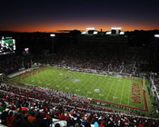 "Arizona Wildcats ""Sunset"" at Arizona Stadium Poster"