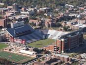 Oklahoma Sooners Memorial Stadium Aerial Poster