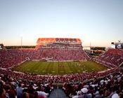 "Oklahoma Sooners ""Memorial Stadium"" Panoramic Photo Mint"