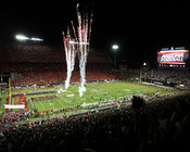 "Arizona Wildcats ""Fireworks"" at Arizona Stadium Poster"