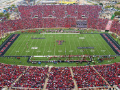 Texas Tech Red Raiders at Jones AT&T Stadium Poster 3