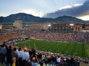 "Colorado Buffaloes ""Game Time"" at Folsom Field Poster"