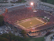 Aerial of Faurot Field Poster