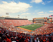 Oklahoma State Cowboys at Boone Pickens Stadium Poster