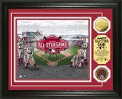 2015 MLB All-Star Game Dirt & Gold Coin Photo Mint