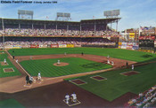 """Ebbets Field Forever"" Brooklyn Dodgers Print"