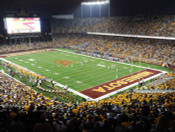 Night Game at TCF Bank Stadium Poster