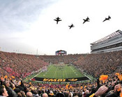 Iowa Hawkeyes at Kinnick Stadium Poster