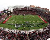 "Cincinnati Bearcats ""Panoramic"" at Nippert Stadium Poster"
