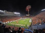 Virginia Tech Hokies at Lane Stadium Poster