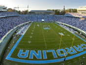 North Carolina Tar Heels at Kenan Stadium Poster